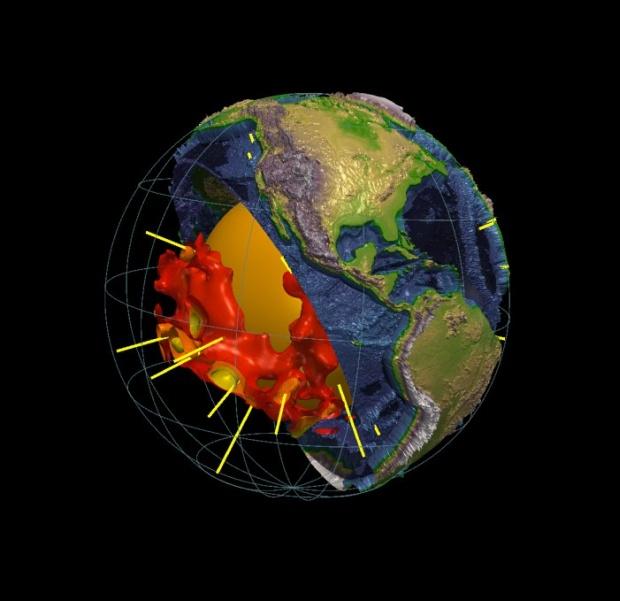 Две џиновски грутки под површината на Земјата  мистерија за научниците